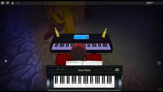 Fur Elise by: Ludwig Van Beethoven on a ROBLOX piano. [Hard]