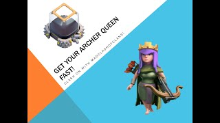 Clash Of Clans: How To Farm Your Archer Queen Fast