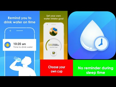App Review Drink Water Reminder: Water Tracker & Alarm (Soponsored By Simple Health Lab)