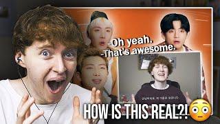 BTS WATCHED MY INTERVIEW..