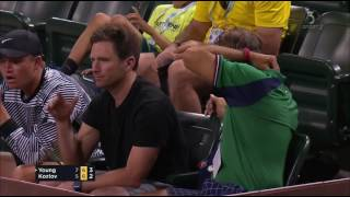 Worst tie break ever? Donald Young vs. Stefan Kozlov at ATP Masters Indian Wells 2017