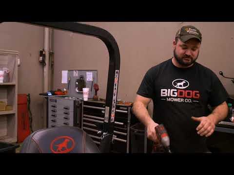 BigDog® Zero Turn Mowers Are Designed For Easy Maintenance