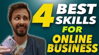 Learn These Skills, Make Money | 4 Most Important Skills for Online Entrepreneurs