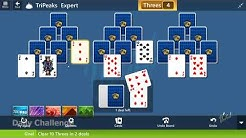 Microsoft Solitaire Collection - TriPeaks [Expert] | October 6th 2019: Clear 10 Threes in 2 deals