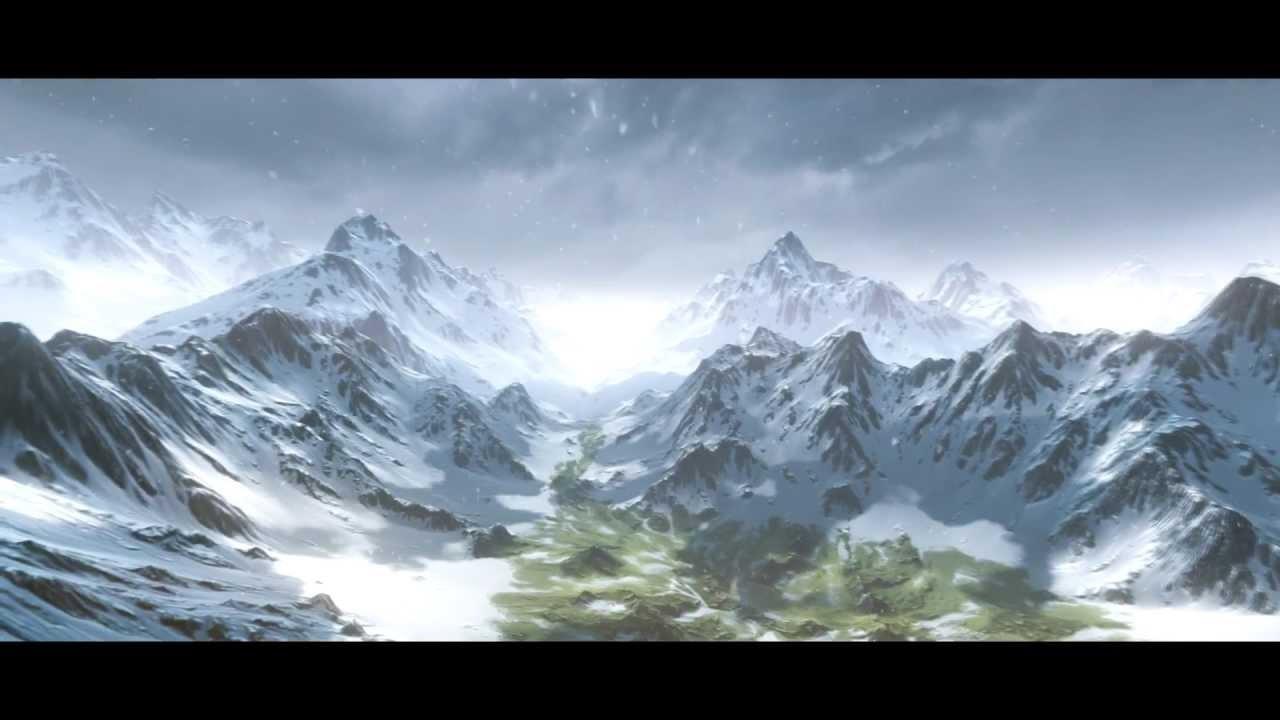 cryengine 3   snow landscape  test