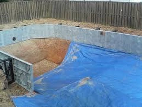 Como hacer una piscina casera youtube for Piscinas para armar en casa