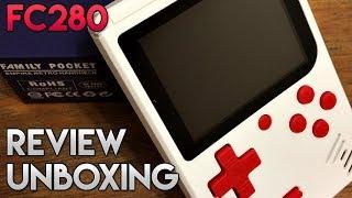 FC280 | Unboxing & Review | Mini consola con 400 juegos | GearBest | luigi2498