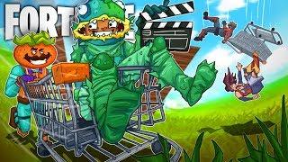 SHOPPING CART SKY BRIDGES w/ Ninja, TimTheTatman, and Dr Lupo! - Fortnite Battle Royale! thumbnail