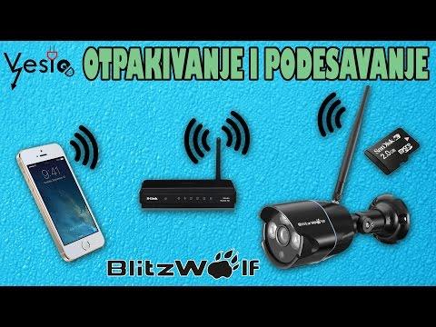 Podesavanje IP kamere  ( Blitzwolf BW-SIC1 IP67 720HD )
