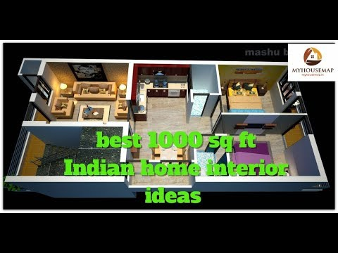 Best 1000 Sq Ft Indian Home Interior Ideas | House Interior Design Ideas  Indian Style