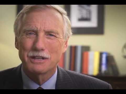 Angus King: There They Go Again