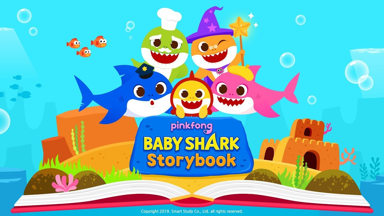 [App Trailer] Pinkfong Baby Shark StoryBook App | Education App | Story |  Kids App
