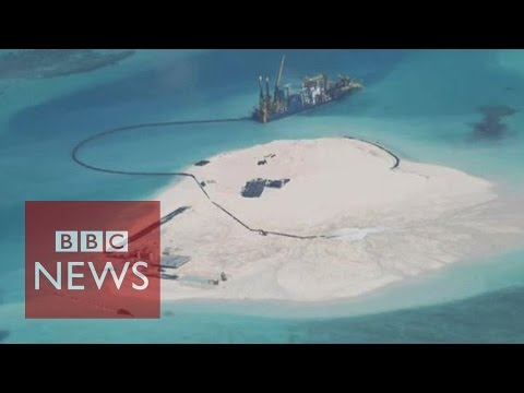 Is China building on disputed Spratly Islands reefs? BBC News