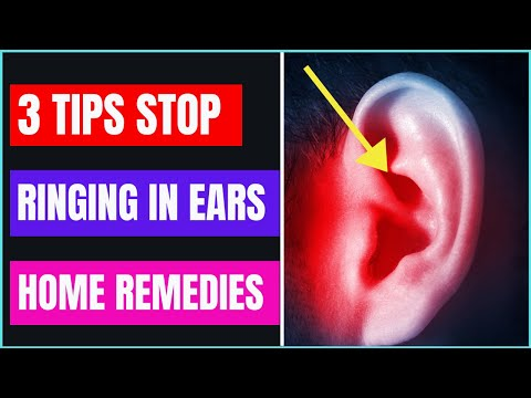 how-to-stop-ringing-in-ears-home-remedies- -tinnitus-treatment