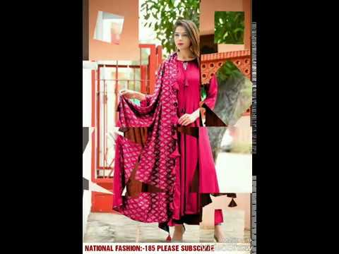 523e5ab0581 Luxuries New Style Festive Wear 2018 heavy rayon NATIONAL FASHION ...