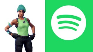 How to get free Spotify premium *GREEN TEAM LEADER* Skin in Fortnite Battle Royale