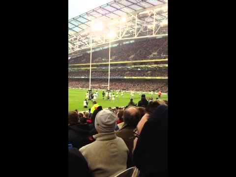 Ireland V Argentina Rugby Aviva Stadium Dublin Saturday 24t