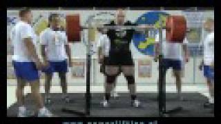 965 kg - Rekord wszechczasów juniorów Daniela Grabowskiego