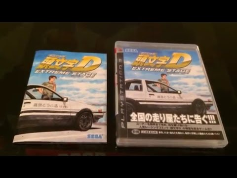 Initial D Extreme Stage PS3 (unboxing & gameplay)