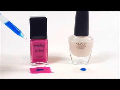Halal Nail Polish - Tuesday in Love vs. Maya