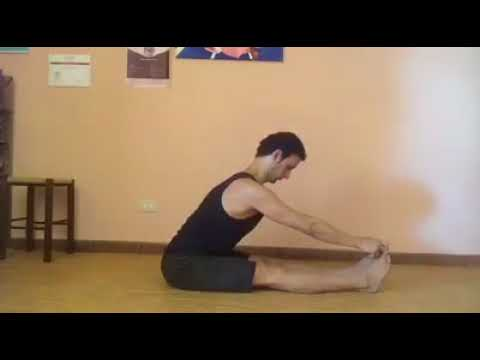Pashimottanasana transition