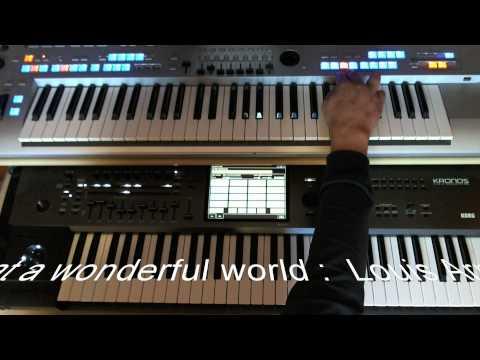 Medley 6-8 Slow Rock : what a wonderful world Louis Armstrong............ TYROS 4 - Korg Kronos
