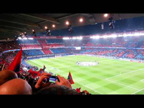 PSG BARCELONA live match reaction parc des princes ! 14/02/2017