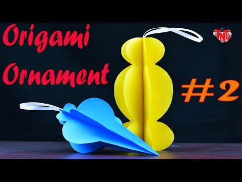 Very Easy Paper 3D Ornaments | DIY Christmas Ornaments