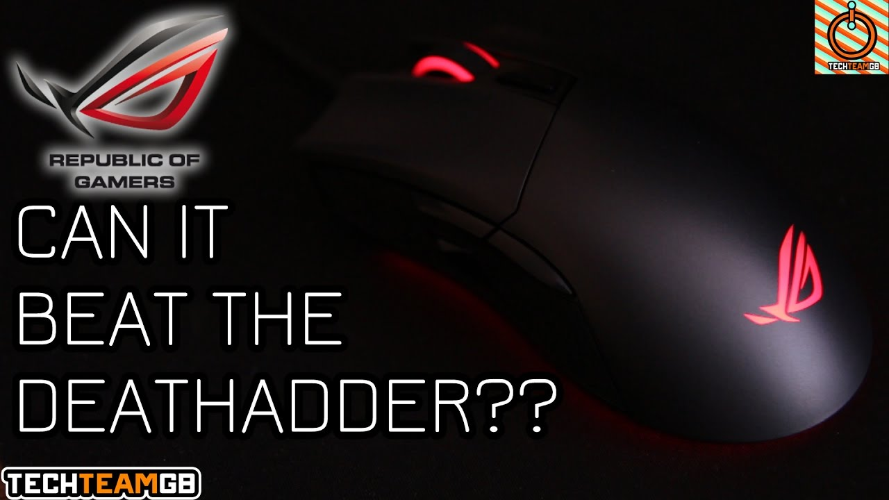 Asus ROG Gladius II | Better than a DeathAdder?