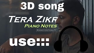 Tera Zikr Official Remix by DENNY REMIX Darshan Raval 3D song