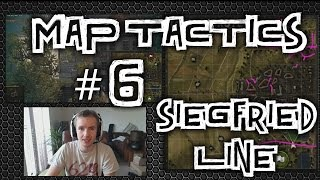 World of Tanks || Map Tactics #6 - Siegfried Line