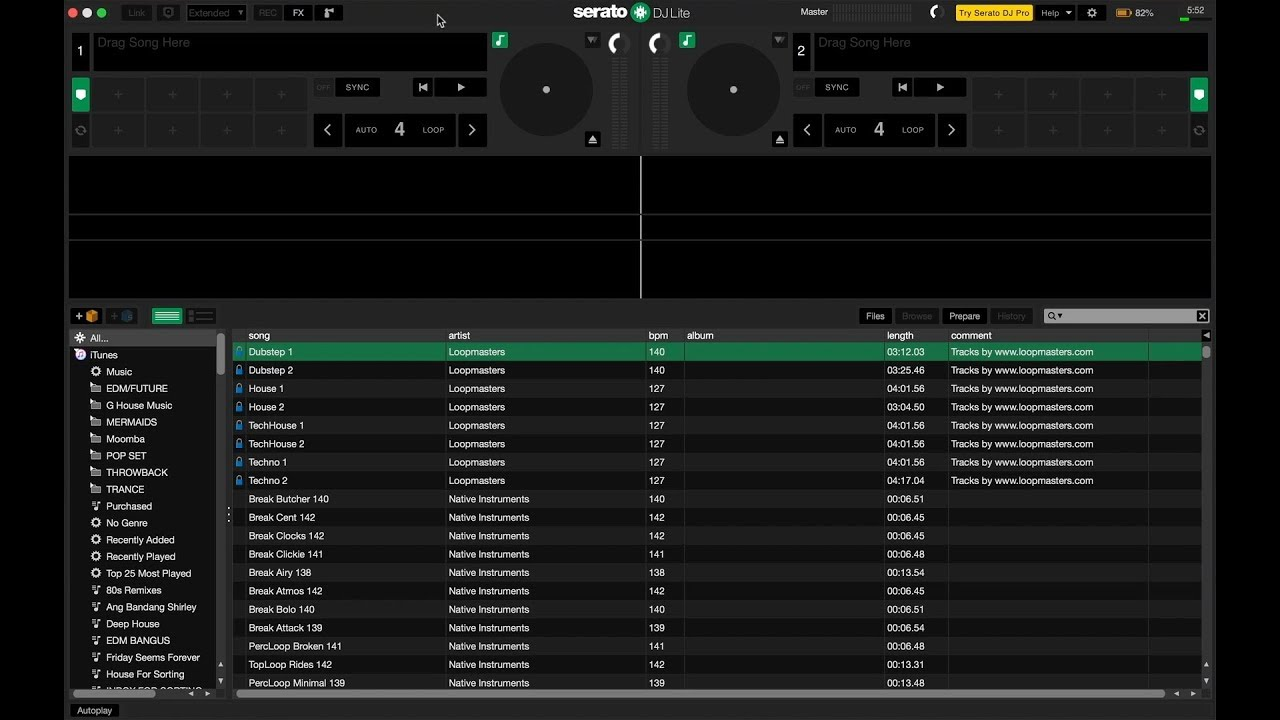 How To DJ With Numark DJ2GO2, 4 of 5: Running Serato DJ Lite For The First  Time