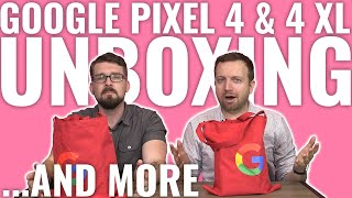 Unboxing the Google Pixel 4, Pixel 4 XL, Nest Mini and accessories
