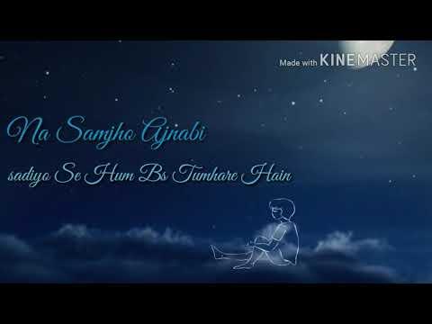 💝Falak Se Puch Lo Chahe  💝 Romantic Beautiful Whatsapp Status Video