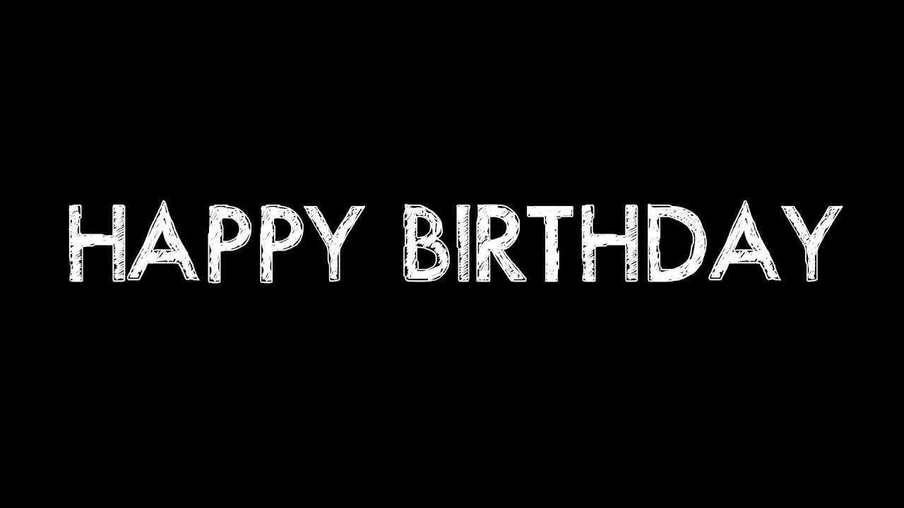 Happy Birthday Animated Video Card