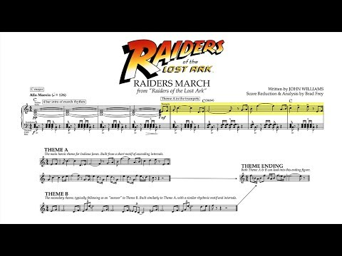 "[5/5] ""Raiders March"" - Raiders of the Lost Ark (Score Reduction & Analysis)"