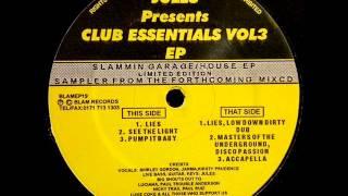 Jules - Club Essentials Vol3 EP - Lies, Lowdown Dirty Dub