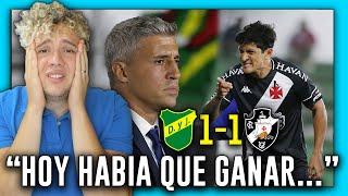 🇦🇷 DEFENSA Y JUSTICIA vs VASCO DA GAMA 🇧🇷 1-1 ANÁLISIS ARGENTINO 🏆 OCTAVOS DE FINAL (ida) RESUMEN 😱