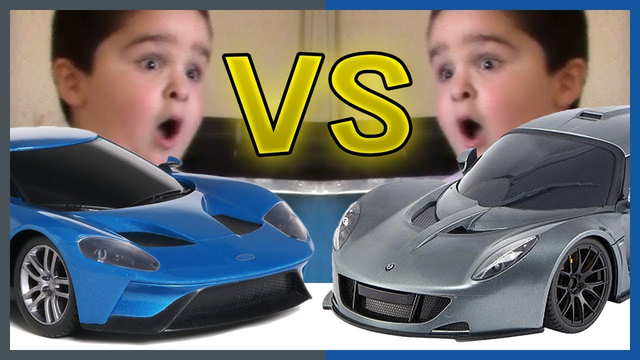 Fast Lane Hennessey Venom Gt Rc Car Vs Maisto Ford Gt Race And Offroad Fun With Fast Rc Cars  Mph