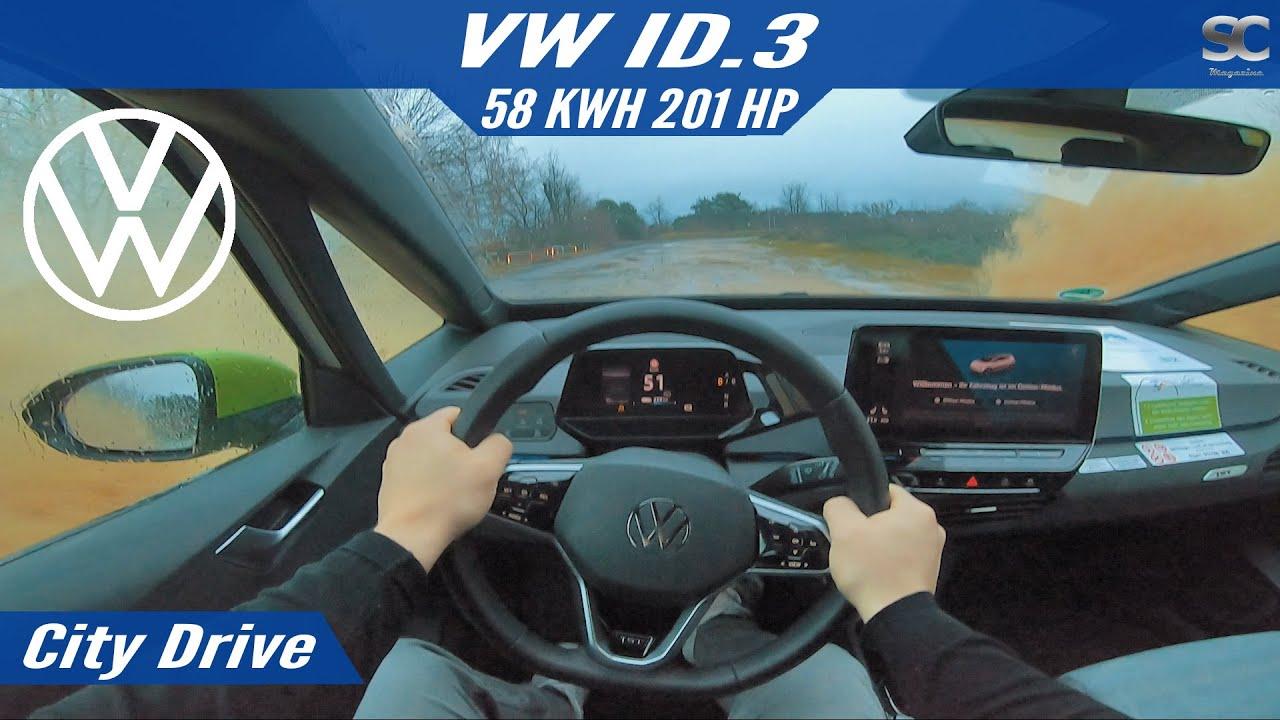 VW ID.3 1ST 201HP (2020) - City Test Drive POV