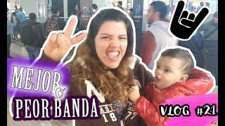 FUIMOS A VER A LA MEJOR O PEOR BANDA DE PERU? | This is Sara Vlogs