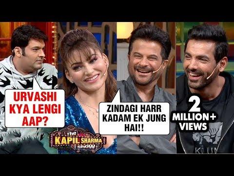 Kapil Sharma FLIRTS With Urvashi, Anil Kapoor, Arshad, John | The Kapil Sharma Show Pagalpanti Movie Mp3