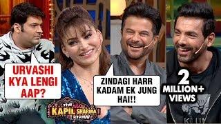 Kapil Sharma FLIRTS With Urvashi, Anil Kapoor, Arshad, John   The Kapil Sharma Show Pagalpanti Movie