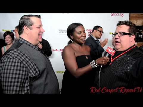 Paul & Peter Vogt at the L.A. Comedy Shorts Film Festival Awards @TheRealPaulVogt @PeterAllenVogt