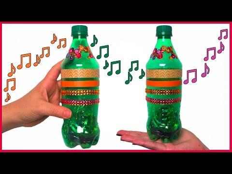 DIY How to Make Plastic Bottle Shaker Instruments for Kids