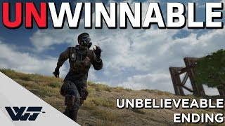 UNWINNABLE GAME - You will not believe how this ended - PUBG