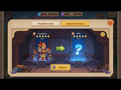 idle heroes how to get prophet blessing