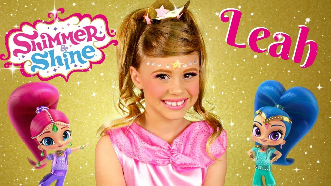 Shimmer and Shine Leah Makeup and Costume
