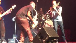 BK Jackson w/Trombone Shorty at LowCountry Jazz Festival 2015