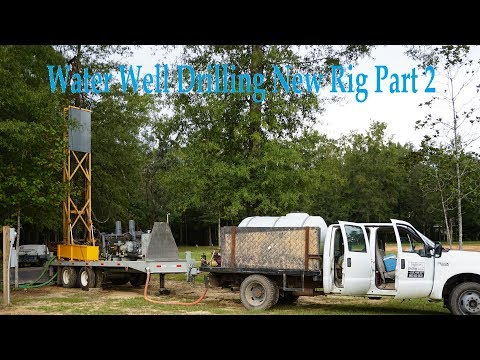 Water Well Drilling 4K - Teme's New Rig - Part 2